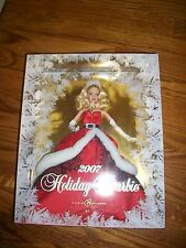 2007 HOLIDAY BARBIE Mrs Claus
