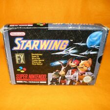 VINTAGE 1993 SUPER NINTENDO ENTERTAINMENT SYSTEM SNES STARWING GAME BOXED PAL