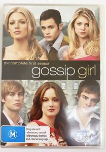 Gossip Girl: The Complete First Season, 5 discs, Good used condition
