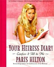 Paris Hilton Your Heiress Diary 2005 Mint Hollywood Movie Television Photo Book