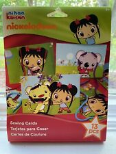 Ni Hao Kai-Lan Nickelodeon 13 Piece Sewing Cards Craft Kit 2010