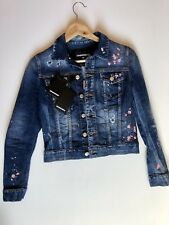 DSQUARED2 Embroidered Denim Jacket.