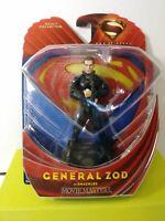SUPERMAN MOVIE MASTERS GENERAL ZOD ACTION FIGURE (SHACKLES) - '13 - MATTEL - MOC