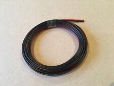 fil double 2X0,5mm² rouge/noir câble souple haut-parleur lampes coupe de 1a100M