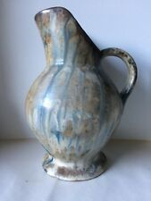 Art Nouveau Belgian Studio Pottery Pitcher By Roger Guerin 1920s