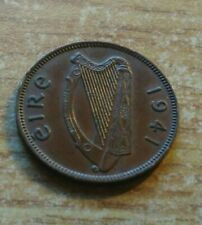 About Uncirculated  Ireland 1/4d Coin Irish Farthing Low Mint, 480k Feorling.