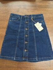 M&S Short Denim Skirt. Size 8. RRP £28. NWT