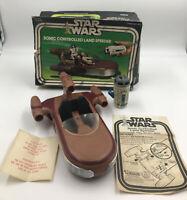 Vintage Kenner Star Wars SONIC LANDSPEEDER - 100% Complete - JC Penny Exclusive