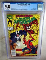 Amazing Spider-man #362 NEWSSTAND - Marvel 1992 CGC 9.8 NM/MT WP - Comic G0084