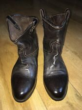 Women's Alberto Fasciani Ankle Boots. Size 39. Brown Leather.
