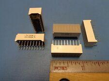(5) LTA-1000R LITEON 10 RED Rectangular Light Bar Display Array 20 PIN DIP LED