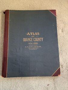 ORIGINAL 1903 Orange County, New York County Atlas Complete