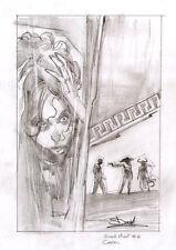 DAVIDE FURNO' - Tavola originale Cover Greek Street # 6