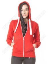 Sudadera con capucha de mujer de color principal rojo
