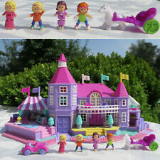 Mini Polly Pocket Villa Light-up Magical Mansion 100% complete SOLARBANK