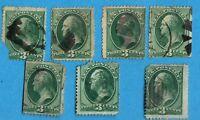 ETATS-UNIS N°:41- Lot de timbres oblitérés second choix !