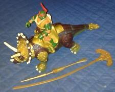 2006 PALEO *** DINO RIDER RAPH TRICERATOPS *** TEENAGE MUTANT NINJA TURTLES TMNT