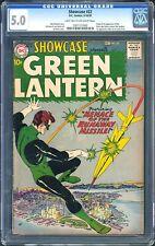 Showcase #22 CGC 5.0 DC 1959 1st Green Lantern! Silver! Hal Jordan! M4 122 cm