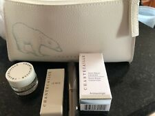 Chantecaille 4pc Gift Set With Bag Stress Repair Concentrate, Creme Rose De Mai