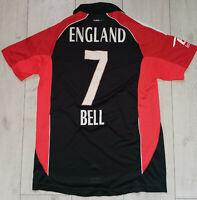 "England #7 Bell Cricket Adidas 40/42"" Shirt Jersey Camiseta Trikot"