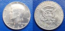 MONETA DA MEZZO HALF DOLLARO ARGENTO 1967 USA KENNEDY SILVER