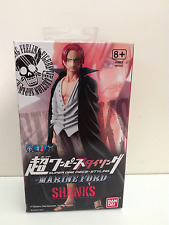 ACTION FIGURE SHANKS 14 CM ONE PIECE BANDAI MARINE FORD 2015 84343 NUOVO