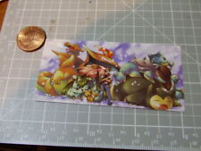 POKEMON GROUP GLOSSY Sticker/ Decal Bumper Laptop Stickers NEW
