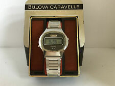 Bulova N7 LCD LED Watch M