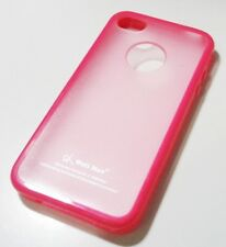 TPU Soft Gel Case For Apple iPhone 4 4S With Screen Protector