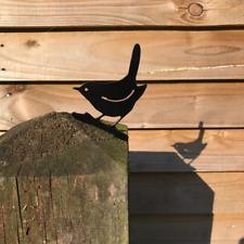 Wren Fence Topper Bird Post Top