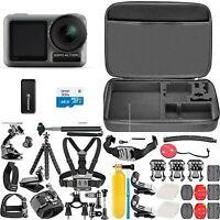 DJI Osmo Action 4K Cam Digital Camera + 50 IN 1 Mega Bundle Accessories + Case