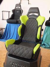 König Sportsitz inkl. Konsole Fiat 500 Abarth, 2 Sitze Neu,Rchg.!