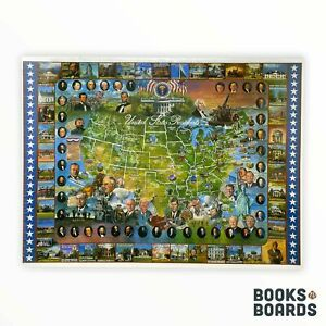United States Presidents 1000 Piece Puzzle | White Mountain Puzzles | 1994 | New