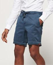 SuperDRY Garment Dye Sun Scorced Cotton Terry Chambray Shorts Mens 30//31//33 NWT