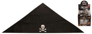 Jolly Rogers Pirate Boy Girl Kids Fun Skull And Crossbone Bandana Hat Head Scarf