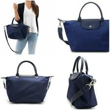 Authentic Longchamp Le Pliage Medium Series Blue