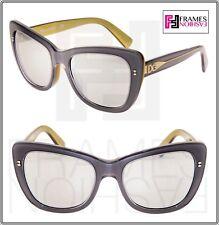 af540cf868b Dolce   Gabbana 4260 Square Grey Gold Silver Mirrored Sunglasses DG4260F  Women