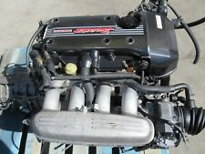 JDM Toyota 3SGE Beams Engine 6 Speed Transmission Altezza 3S-GE VVTi
