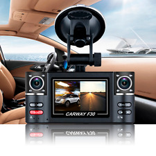 HD 1080P Dual Lens Night Vision Vehicle Car DVR Dash Cam Video Recorder Camera