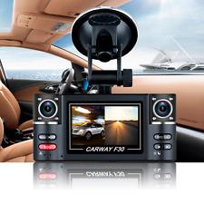 HD 1080P Dual Lens Night Vision Vehicle Car DVR Dash Cam Video Recorder Camera