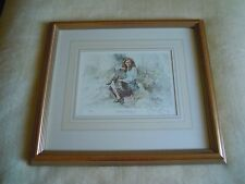 Gordon King Signed Limited Edition Print 498/500 Titled Emily Study 1