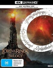 Lord of The Rings Trilogy Extended 4k Ultra HD Region B 9 Disc Set &