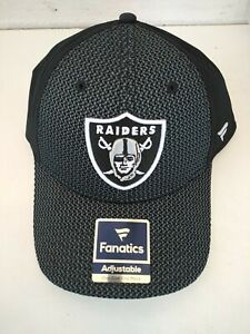 New Los Angeles Oakland Raiders Pro Line Fanatics Adjustable Cap Hat Authentic