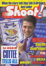 TONY COTTEE / BRYAN ROBSON / SOUTHAMPTON / QPRShoot 6Aug1988