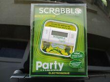 SCRABBLE PARTY  jeu de lettres électronique  MATTEL