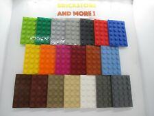 Lego - Plaque Plate 4x6 6x4 3032 - Choose Color & Quantity