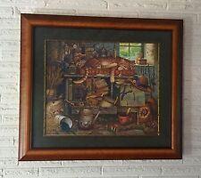 "Charles Wysocki ""Remington The Horticulturist"" Framed S/N w/ CERT"