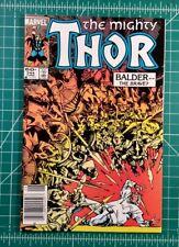The Mighty Thor # 344 (1984) Marvel Comics Walt Simonson 1st App Malekith VF