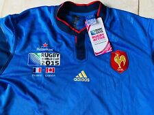 Maillot XV de France - Canada world cup 2015 collector XXL jersey rugby rare