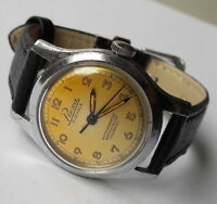 Rare Vintage Military PREXA Antimagnetic Incabloc AS1980 Swiss From Early 50's
